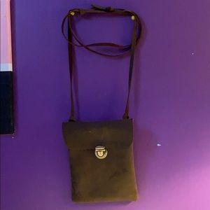 Basic Brown Suede Bag